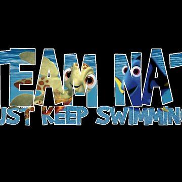 Team Nat - Just Keep Swimming by girldani