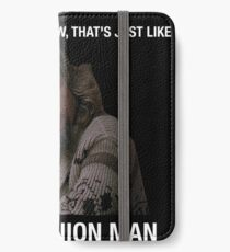 The Big Lebowski - The Dude iPhone Wallet/Case/Skin