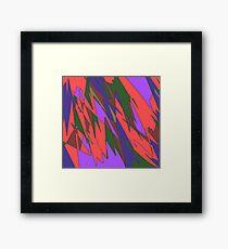 Retro Abstract Framed Print
