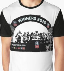 Manchester United FA Cup Winners 2016 Graphic T-Shirt