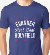 Evander 'Real Deal' Holyfield Undisputed Heavyweight Champion of the World Unisex T-Shirt