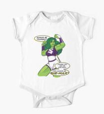 Always Be She-Hulk One Piece - Short Sleeve