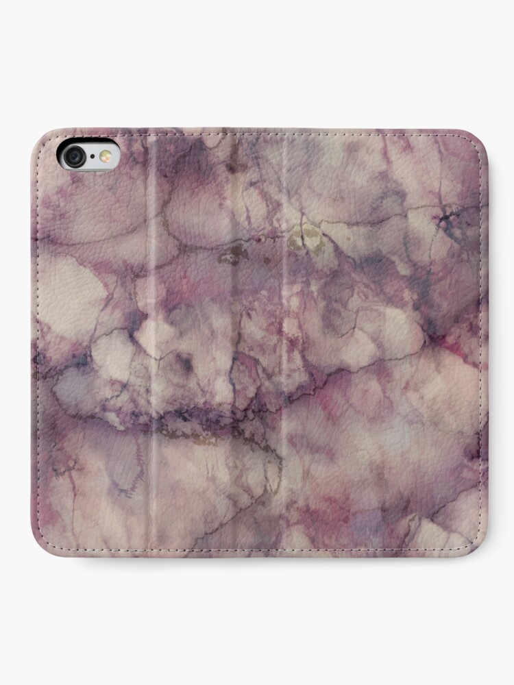 Alternate view of Marble Art V1 #redbubble #buyart iPhone Wallet