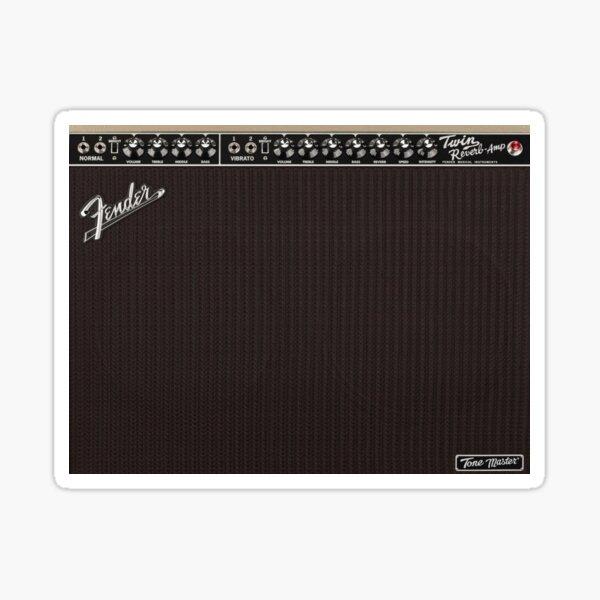 Fender Tone Master Twin Reverb Blonde Amplifier Sticker