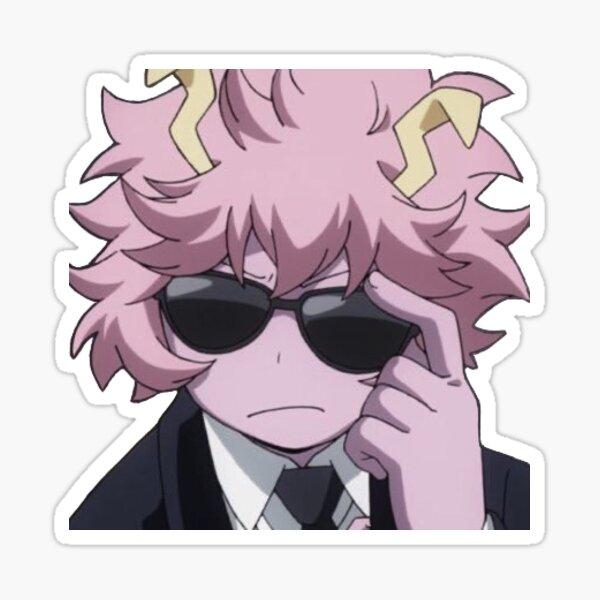 swag mina ashido Sticker