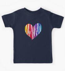 Rainbow Heart Kids Tee