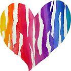 Rainbow Heart by DiBeauteous