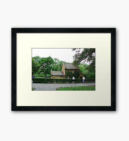 Captain Cook's cottage, Melbourne Framed Print