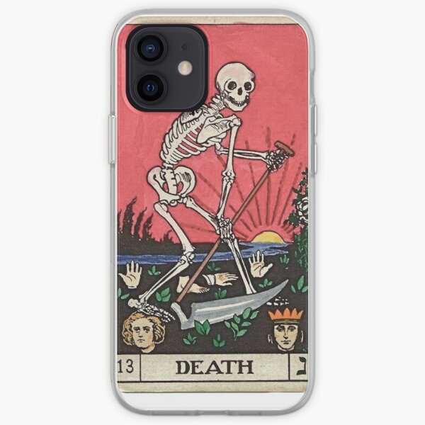 Mort de carte de tarot Coque souple iPhone