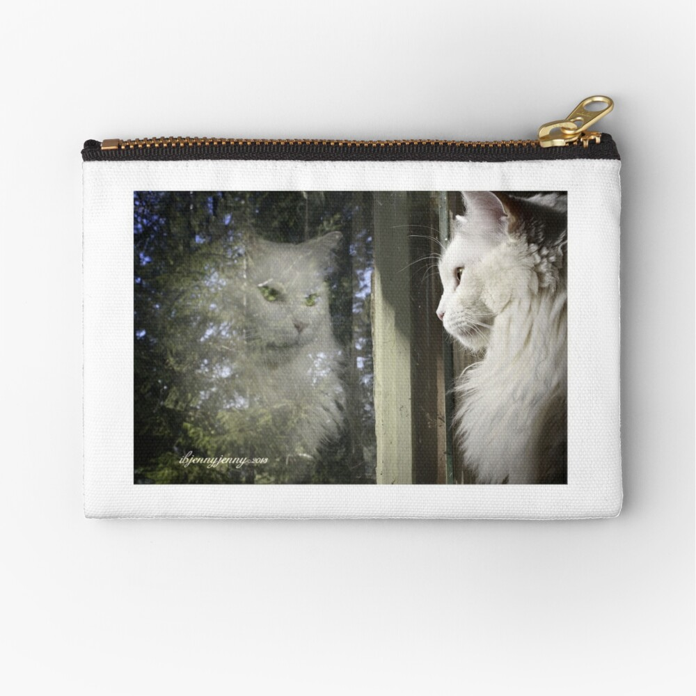 What Matters Most is How You See Yourself Zipper Pouch