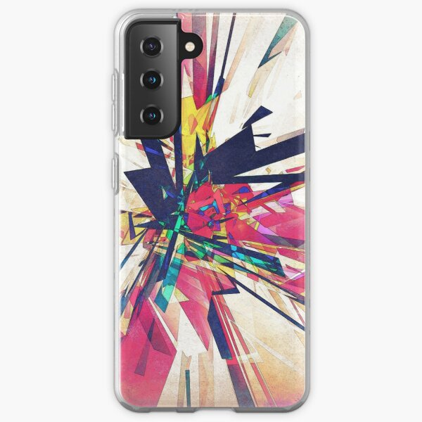 Abstract Geometry Samsung Galaxy Soft Case