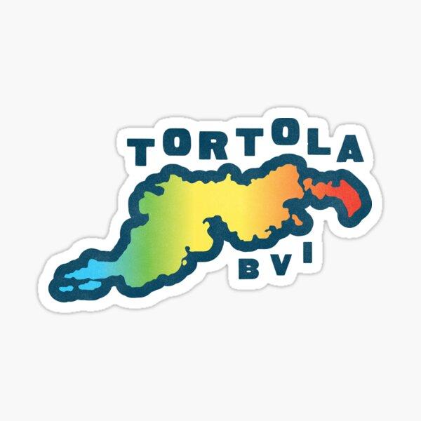 Tortola BVI Sticker