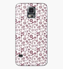 Cave Engravings Pictogram Petroglyphs Case/Skin for Samsung Galaxy