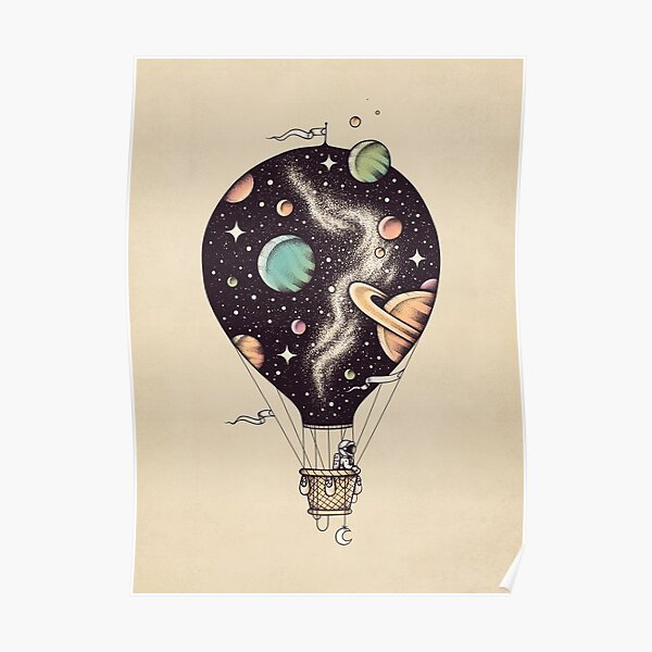 Voyage interstellaire Poster
