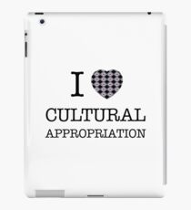 I Heart Cultural Appropriation Inuit iPad Case/Skin