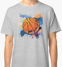 Basketball graffiti art Classic T-Shirt