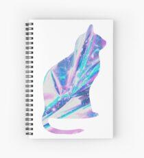 Cuaderno de espiral Gatito holográfico