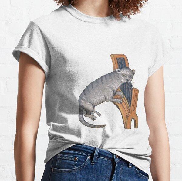 Organ Cat Marginalia Classic T-Shirt