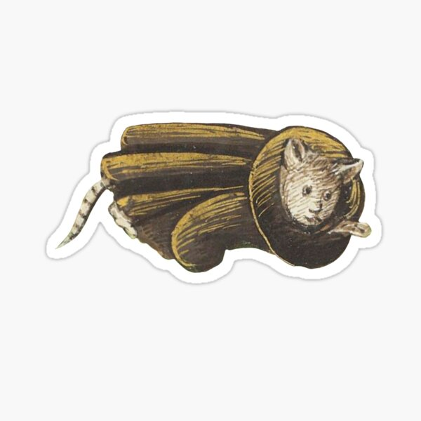 Cat Friar Sticker
