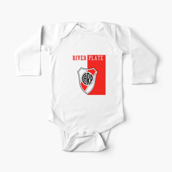 River Plate 01 Body de manga larga para bebé