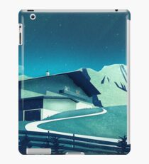 Alpine Hut iPad Case/Skin