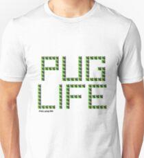 Pug Life Green Tiled Unisex T-Shirt