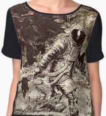 Spaceman Women's Chiffon Top