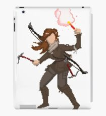 pixel raider iPad Case/Skin