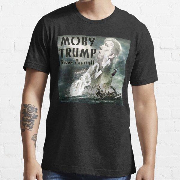 Moby Trump Rises Again Essential T-Shirt