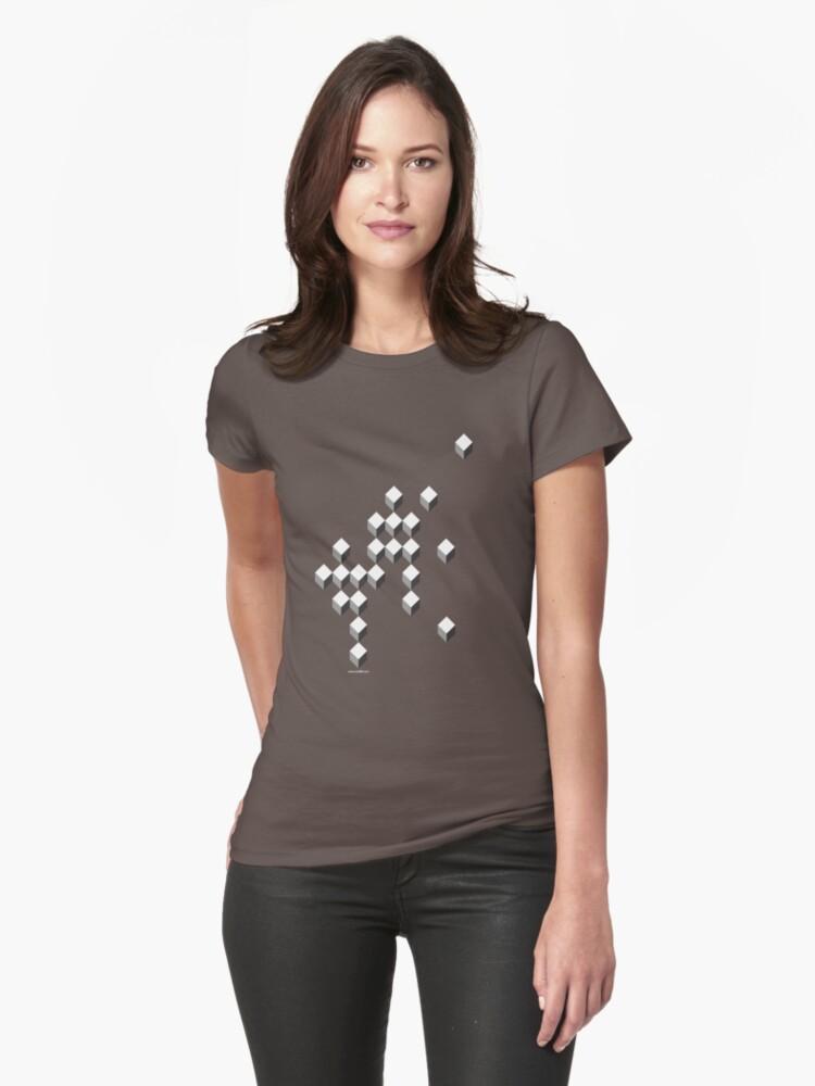Kube Womens T-Shirt Front
