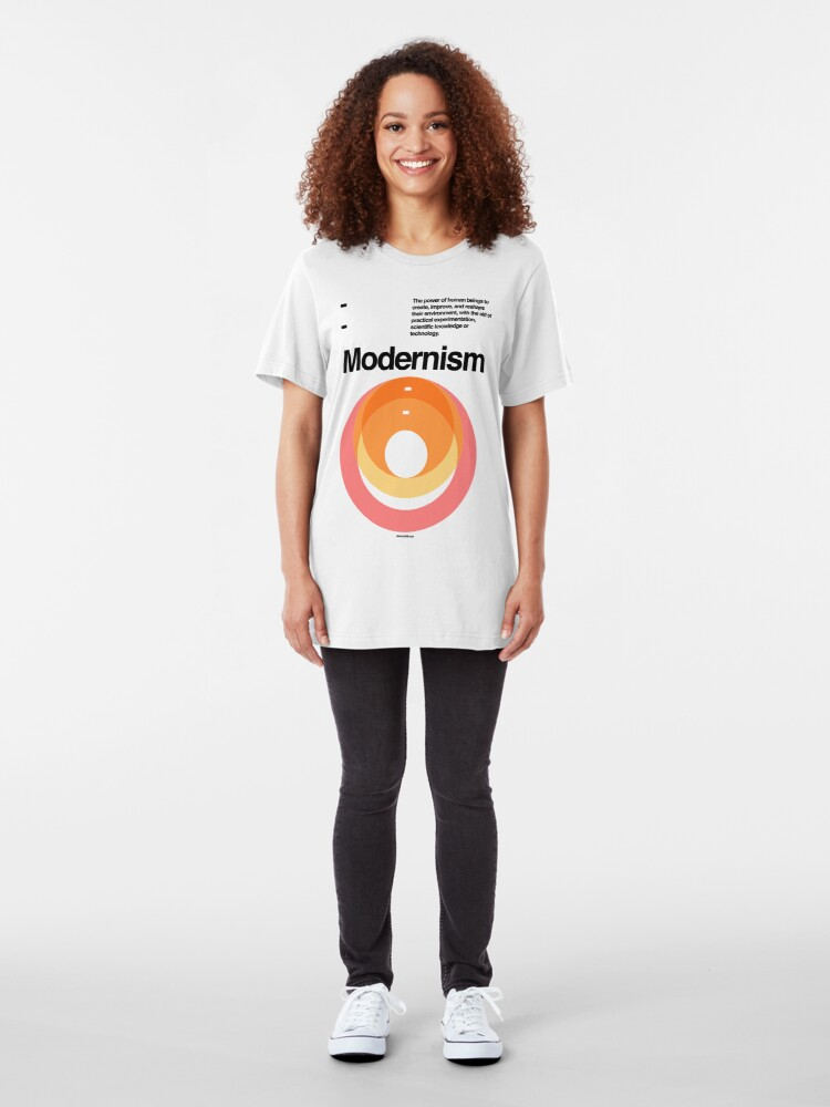 Alternate view of Modernism Slim Fit T-Shirt