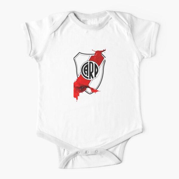 River Plate logo Body de manga corta para bebé