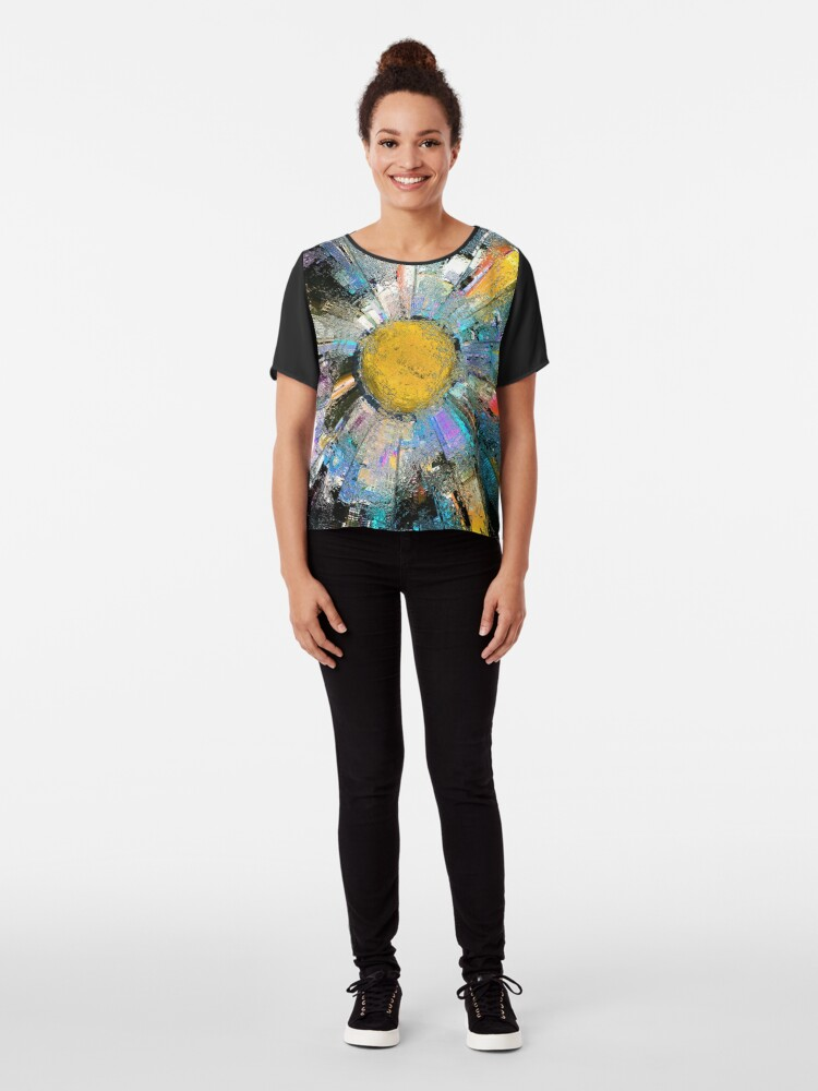 Alternate view of City In The Sun Chiffon Top