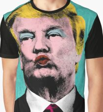 Trump Warhol Graphic T-Shirt