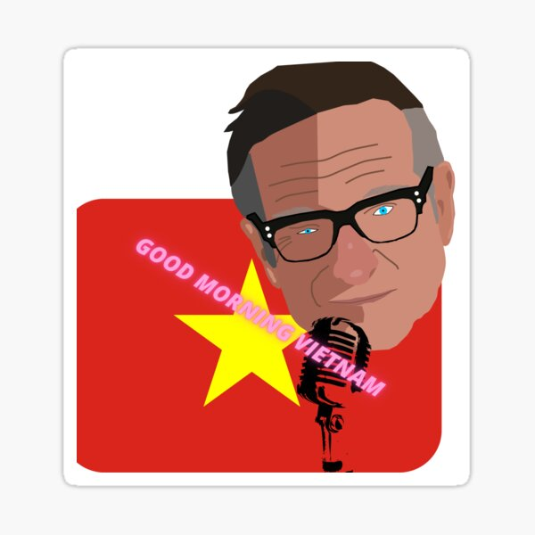 Good morning Vietnam Sticker