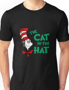 The Cat In The Hat Dr Seuss Unisex T-Shirt