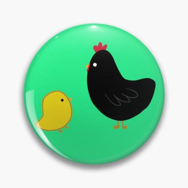 Papa Chicken and Little Chicken Pin