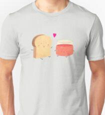 Bread loves jam Unisex T-Shirt