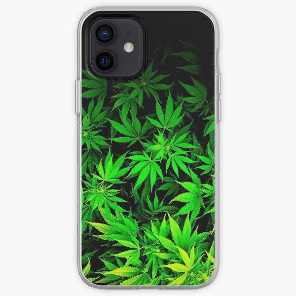 Cannabis desing iPhone Soft Case