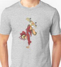 Skateboarding player Unisex T-Shirt