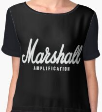 Marshall Amplification Women's Chiffon Top