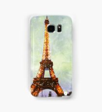 Eiffel Tower, Starry Night Samsung Galaxy Case/Skin