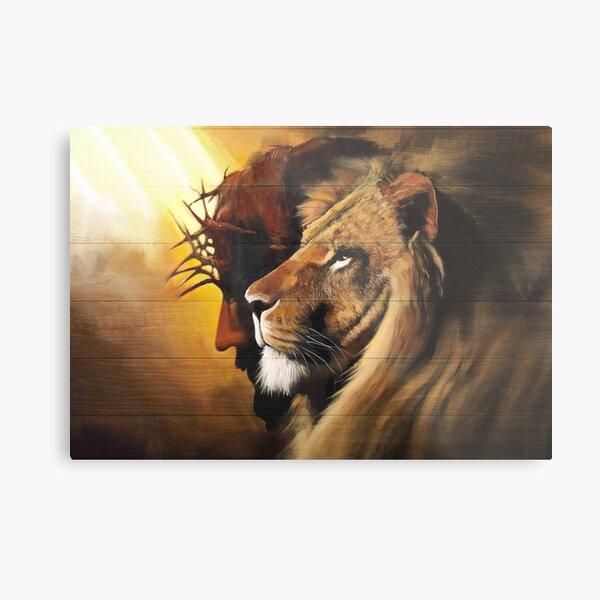 Lion of Judah #4 Metal Print