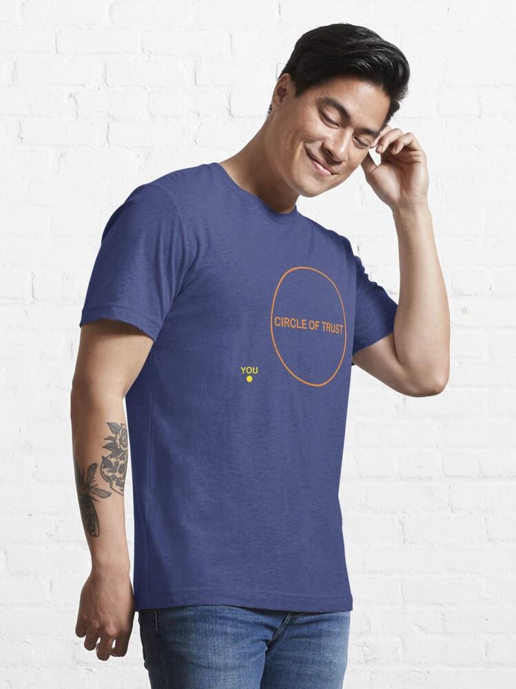 T-shirt essentiel ''Cercle de confiance': autre vue