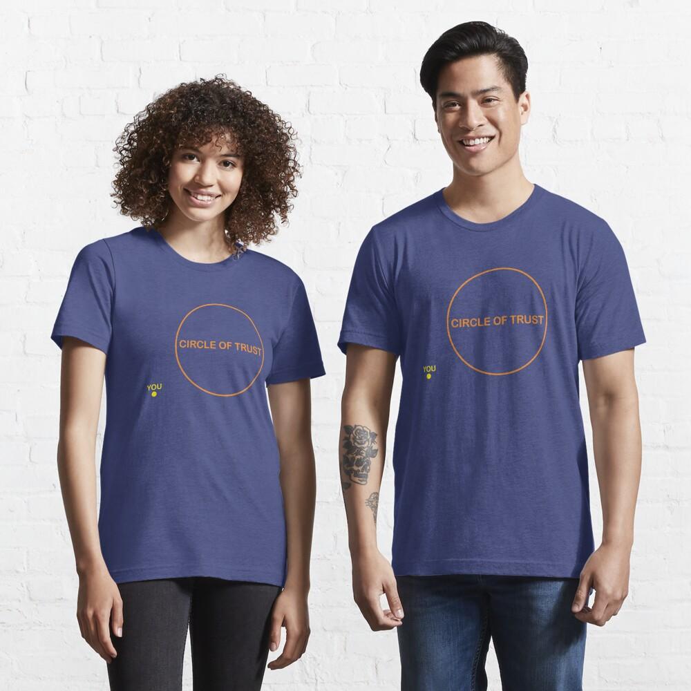 T-shirt essentiel «Cercle de confiance»