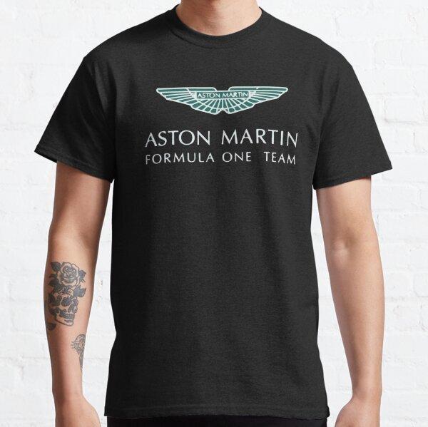 Aston Martin F1 Artístico Logotipo Camiseta clásica