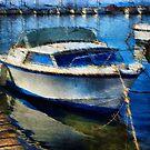 Boat at Berth by jean-louis bouzou