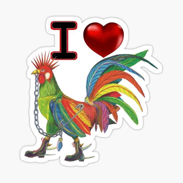 I Love KOCK v2 Sticker