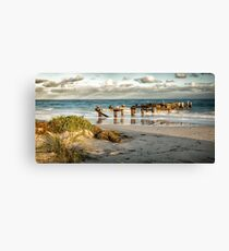 Jurien Bay Old Jetty #2 Canvas Print