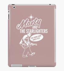Marty and the Starlighters iPad Case/Skin
